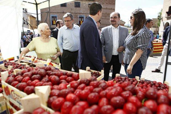 Feria de la cereza Ricla