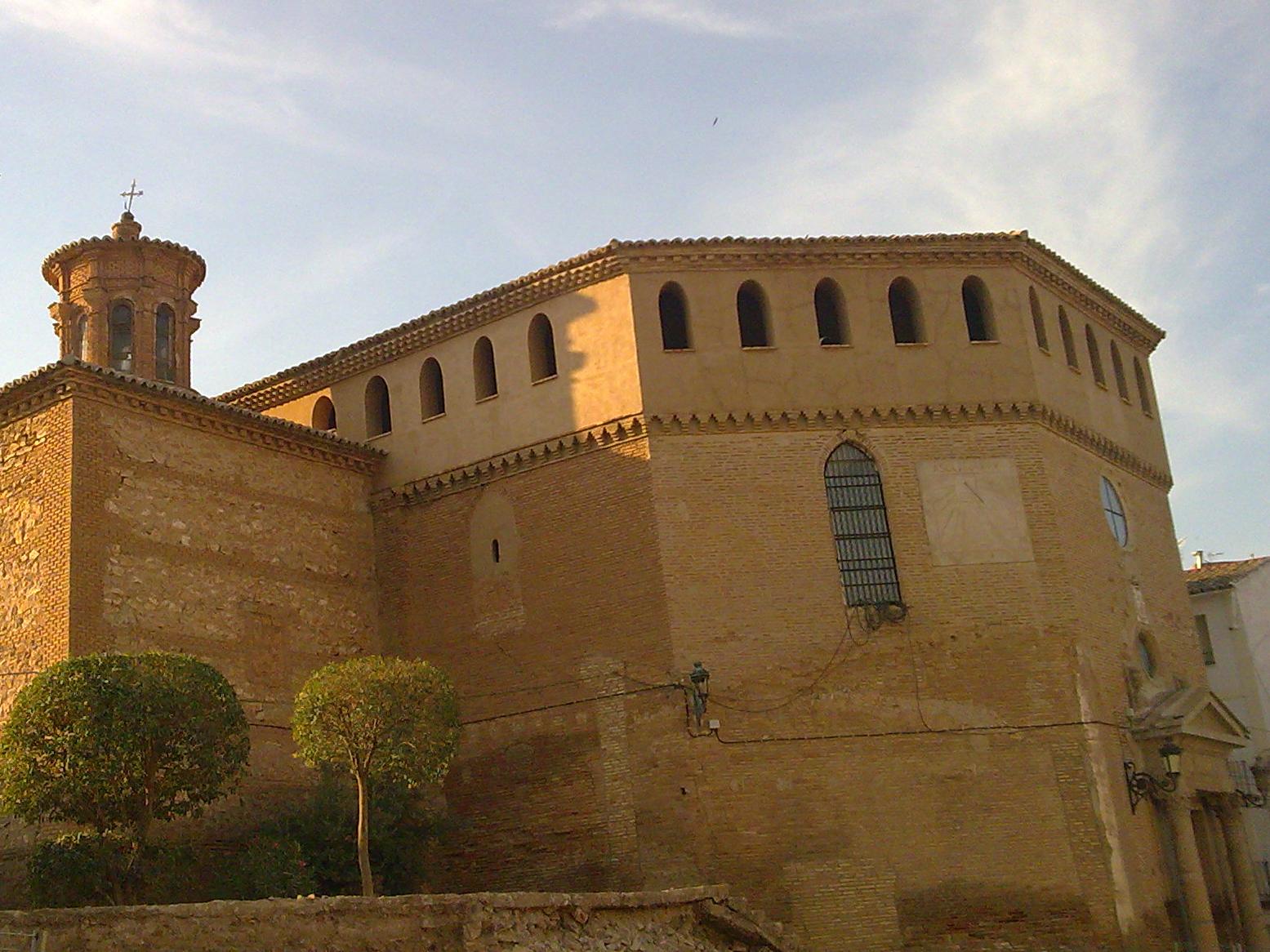 Iglesia Asunción Ricla Vista Completa
