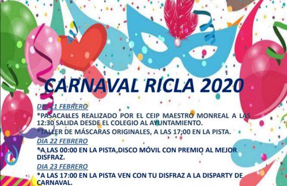 Carnaval Ricla 2020